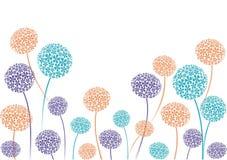 Beira do Allium Imagens de Stock Royalty Free