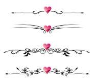 Beira do amor Imagens de Stock Royalty Free