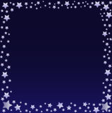 Beira do céu nocturno Imagem de Stock Royalty Free