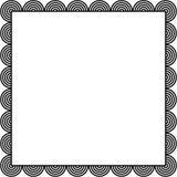 Beira do círculo ilustração do vetor