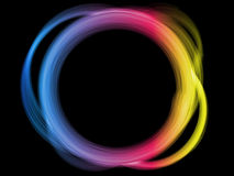 Beira do círculo do arco-íris. ilustração do vetor