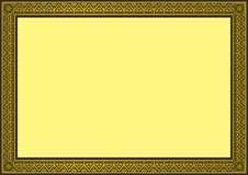 Beira do certificado Imagens de Stock Royalty Free