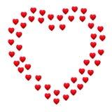 Beira do coração Imagens de Stock Royalty Free