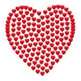 Beira do coração Fotos de Stock Royalty Free