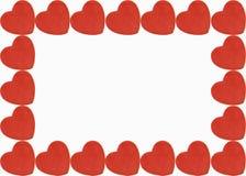 Beira do coração ilustração do vetor