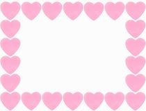 Beira do coração ilustração stock
