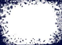 Beira do floco do Natal ilustração stock