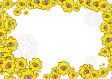 Beira do girassol ilustração royalty free