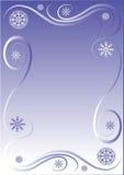 Beira do inverno ilustração stock