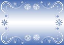 Beira do inverno ilustração royalty free