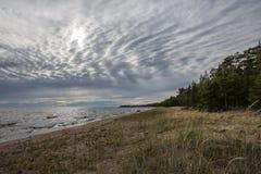 Beira do lago Fotografia de Stock Royalty Free
