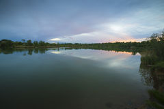 Beira do lago 03 Fotografia de Stock Royalty Free