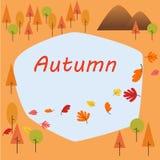 Beira do outono Fotos de Stock Royalty Free