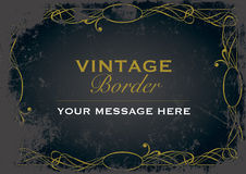 Beira do vintage Foto de Stock Royalty Free