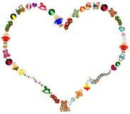 Beira dos brinquedos Imagens de Stock Royalty Free