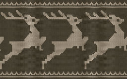 Beira dos cervos Imagem de Stock Royalty Free