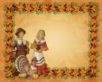 Beira dos peregrinos da acção de graças Imagens de Stock Royalty Free