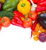 Beira dos vegetais Imagem de Stock