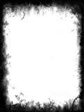 Beira e frame de Grunge Fotos de Stock