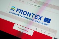 Beira e guarda costeira europeias Agency fotos de stock