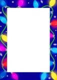Beira festiva das luzes Foto de Stock