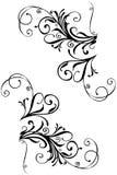 Beira floral Imagens de Stock Royalty Free