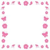 beira floral Foto de Stock