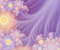 Beira floral da primavera ilustração stock