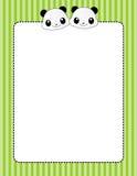 Beira/frame animais Imagem de Stock