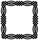 Beira geométrica celta Foto de Stock Royalty Free