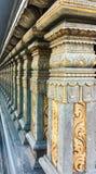 Beira indiana do templo imagens de stock