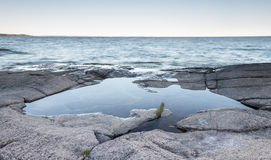 Beira-mar áspero Imagem de Stock Royalty Free