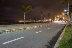 Beira Mar aleja SC - Brazylia - Florianopolis - Obrazy Royalty Free