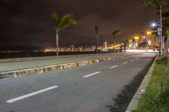 Beira Mar Avenue - Florianopolis - SC - Brazil Royalty Free Stock Images