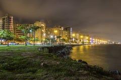 Beira Mar Avenue - Florianopolis - SC - Brazil Stock Images