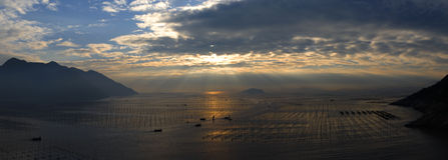 Beira-mar bonito Fotografia de Stock Royalty Free