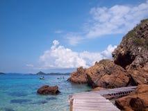 Beira-mar bonito Imagens de Stock