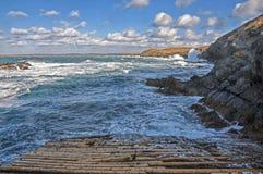 Beira-mar bonito Foto de Stock Royalty Free