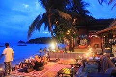 Beira-mar bonito em Koh Samui Imagens de Stock Royalty Free