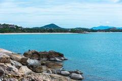 Beira-mar cênico da montanha Imagem de Stock