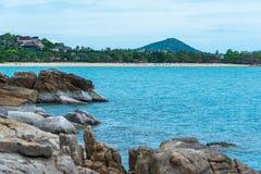 Beira-mar cênico da montanha Imagens de Stock Royalty Free