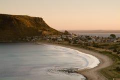Beira-mar do por do sol Foto de Stock Royalty Free