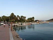 Beira-mar em Datca, Turquia Imagens de Stock Royalty Free