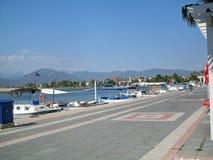 Beira-mar em Fethiye Turquia Imagens de Stock