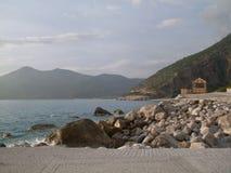 Beira-mar em Lykiaworld Oludeniz Fotografia de Stock Royalty Free