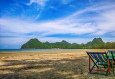 beira-mar em Tailândia Fotos de Stock
