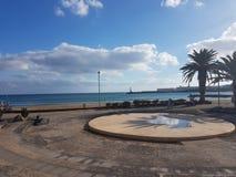 Beira-mar Lanzarote Foto de Stock Royalty Free