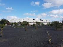 Beira-mar Lanzarote fotos de stock royalty free