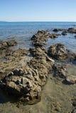 Beira-mar, Sardinia, Itália Fotografia de Stock
