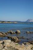Beira-mar, Sardinia, Itália Fotos de Stock